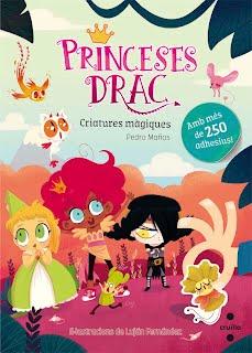 Princeses drac: criatures màgiques. Adhesius